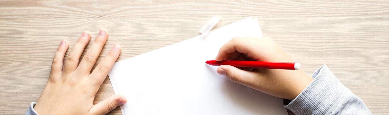 Handwriting Slider